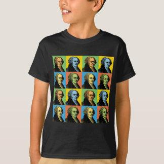 John Adams Pop-Art T-Shirt
