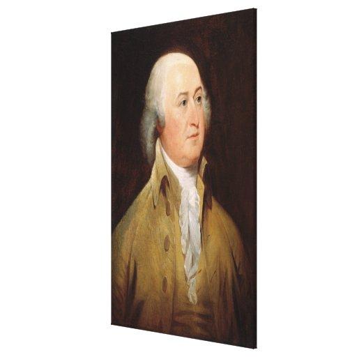 JOHN ADAMS Portrait by John Trumbull Print Canvas Print