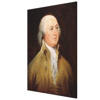 JOHN ADAMS Portrait by John Trumbull Print Gallery Wrapped Canvas