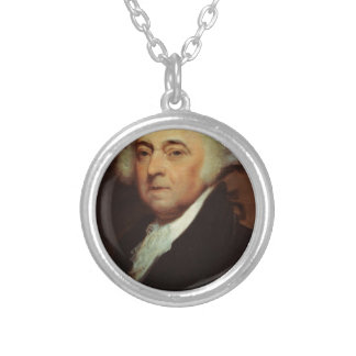 John Adams Silver Plated Necklace