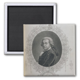 John Adams Square Magnet