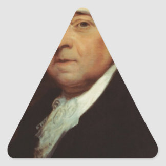 John Adams Triangle Sticker