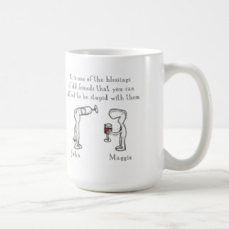 """John and Maggie "" Coffee Mug"