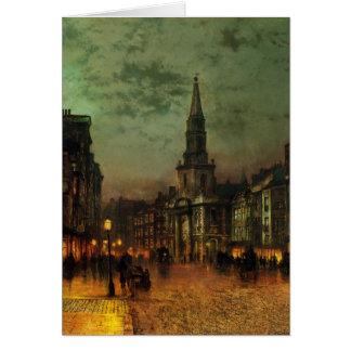 John Atkinson Grimshaw- Blackman Street, London Card