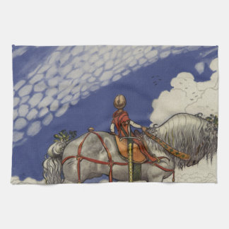 John Bauer - Into the Wide World Hand Towel