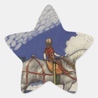 John Bauer - Into the Wide World Star Sticker