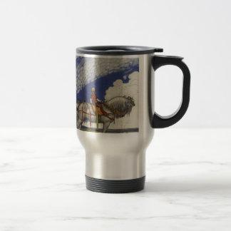 "John Bauer - ""Into the Wide World"" Travel Mug"