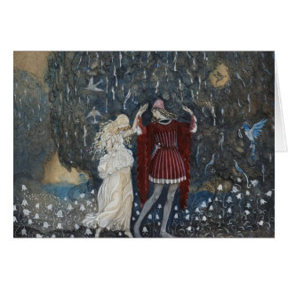 John Bauer - Lena Dances with the Knight Card