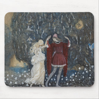 John Bauer - Lena Dances with the Knight Mouse Pad