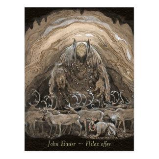 John Bauer Nilas offer CC0498 Postcard