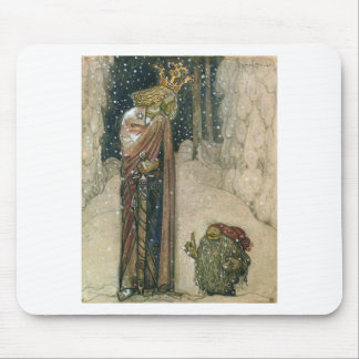 John Bauer - Princess and Troll Mouse Pad