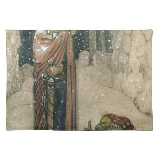 John Bauer - Princess and Troll Place Mats
