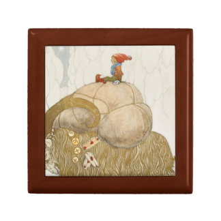 John Bauer - The Christmas Goat Gift Box