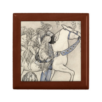 John Bauer - The Horse He Led at the Bit Gift Box