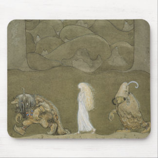 John Bauer - The Princess and the Trolls Mouse Pad