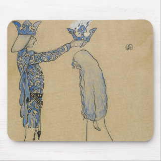 John Bauer - Then Put the Prince a Crown of Gold Mouse Pad