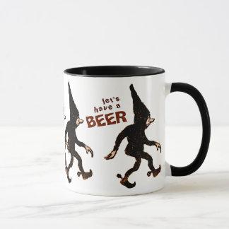 John Bauer Tomtenisse CC0578 Beer Mug