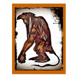 John Bauer's Scandinavian Troll Postcard