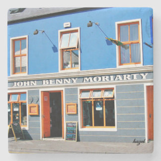 John Benny, Dingle, Pubs, Irish, Coasters. Ireland Stone Coaster