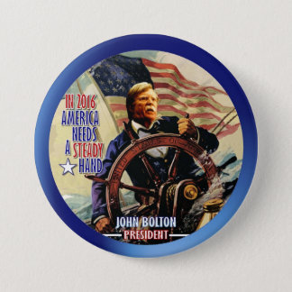 John Bolton for President 2016 7.5 Cm Round Badge