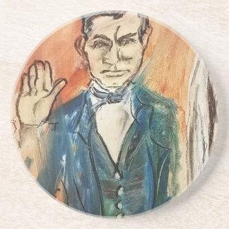 John Brown Oath Coaster