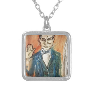 John Brown Oath Silver Plated Necklace