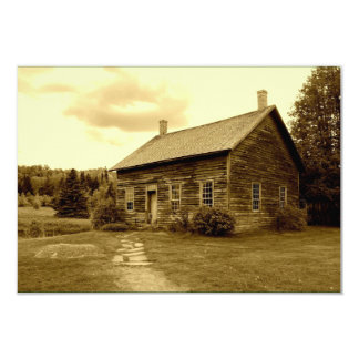 John Brown's House in the Adirondack Mountains Invitation