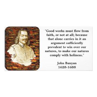John Bunyan Photo Card