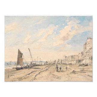 John Constable - Brighton Beach Looking West Photo