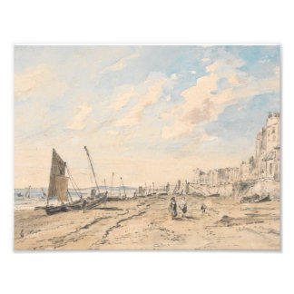 John Constable - Brighton Beach Looking West Photo Print