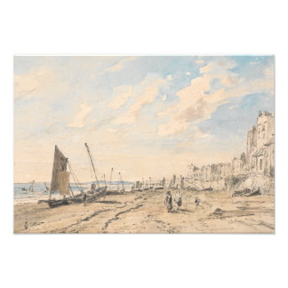 John Constable - Brighton Beach Looking West Photographic Print