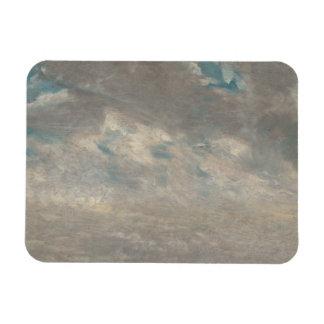 John Constable - Cloud Study Rectangular Photo Magnet