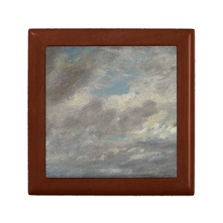 John Constable - Cloud Study Small Square Gift Box