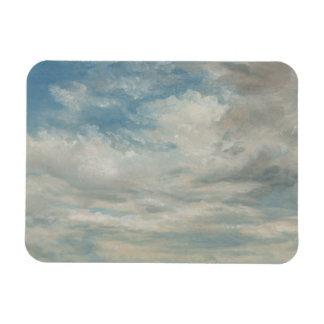 John Constable - Clouds Rectangular Photo Magnet