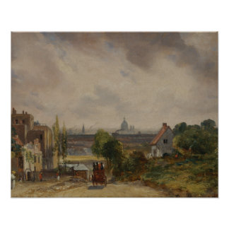 John Constable - Sir Richard Steele's Cottage Poster