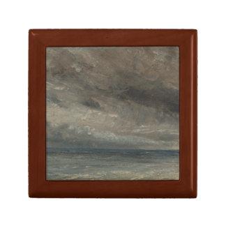 John Constable - Stormy Sea, Brighton Small Square Gift Box