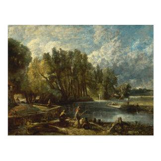 John Constable - Stratford Mill Postcard