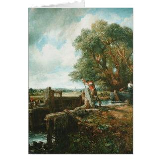 John Constable- The Lock Card