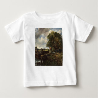 John Constable - The Lock - Countryside Landscape Baby T-Shirt
