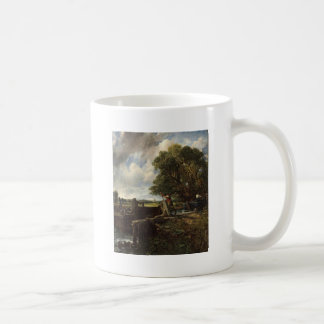 John Constable - The Lock - Countryside Landscape Coffee Mug