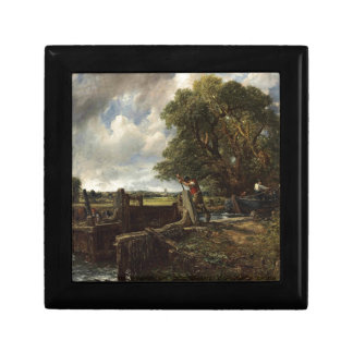 John Constable - The Lock - Countryside Landscape Gift Box