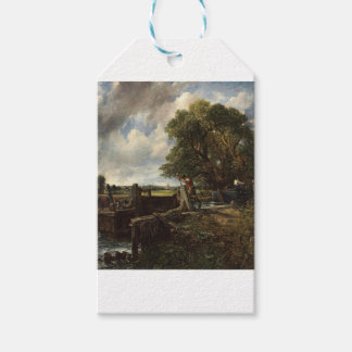 John Constable - The Lock - Countryside Landscape Gift Tags