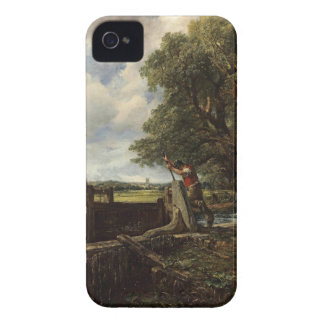 John Constable - The Lock - Countryside Landscape iPhone 4 Cases