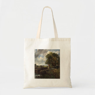 John Constable - The Lock - Countryside Landscape Tote Bag