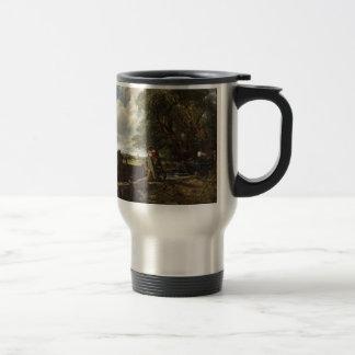 John Constable - The Lock - Countryside Landscape Travel Mug