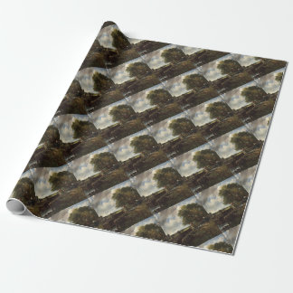John Constable - The Lock - Countryside Landscape Wrapping Paper