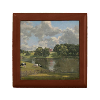 John Constable - Wivenhoe Park, Essex Small Square Gift Box