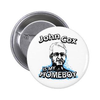 John Cox is my homeboy 6 Cm Round Badge