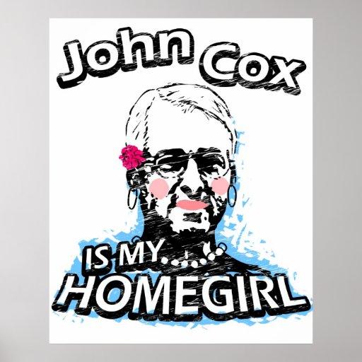 John Cox is my homegirl Print