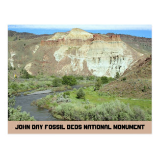John Day Fossil Beds Travel Photo Postcard